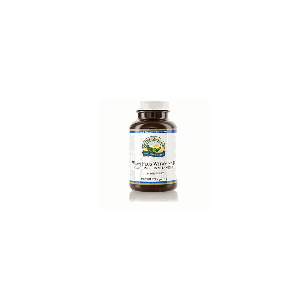 Wapń Plus Witamina D 150 tabletek
